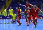 CUC SOC: DKVD Futsal Brazil bi Iran loai o vong 1/8 Futsal World Cup 2016