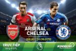 Arsenal 3-0 Chelsea (KT): Phao thu cham dut mach tran khong thang The Blues