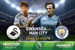 Swansea 1-3 Man City (KT): Noi dai ky luc
