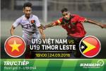 U19 Việt Nam 4-0 U19 Đông Timor (KT): Thắng đậm ngày chia tay giải