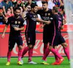 Tổng hợp: Gijon 0-5 Barca (Vòng 6 La Liga 2016/17)