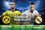 Dortmund 2-2 Real Madrid (KT): Ruot duoi hap dan
