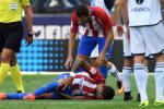 Tiền vệ trụ cột của Atletico bị rách hoàn toàn dây chằng chéo trước