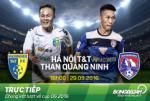 TRỰC TIẾP Hà Nội T&T 0-1 Quảng Ninh (Hiệp 1): Đức Thắng lập siêu phẩm góc hẹp