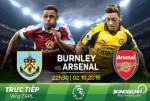 Burnley 0-1 Arsenal (KT): Cai tay cua Koscielny tang qua thay Wenger
