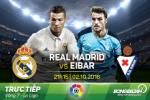 Real Madrid 1-1 Eibar (KT): Noi tiep chuoi that vong