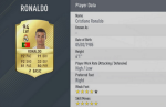 Ronaldo vuot mat Messi trong game FIFA 17