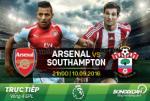 Arsenal 2-1 Southampton (KT): Phao thu thang may vao phut chot