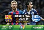 Barca 1-2 Alaves (KT): Dai dia chan tren Nou Camp