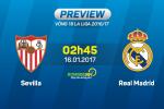 Sevilla vs Real (2h45 ngay 16/1): Tra het cho Ken ken