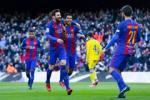 Tong hop: Barca 5-0 Las Palmas (Vong 18 La Liga 2016/17)