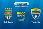 Binh Duong vs Thanh Hoa (18h00 ngay 22/1): San tien thuong Tet