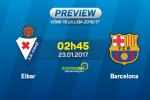 Eibar vs Barcelona (2h45 ngay 23/1): Ai can noi MSN?