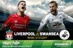 Liverpool 2-3 Swansea (KT): Dia chan rung chuyen Anfield