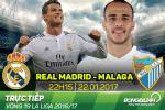 Real Madrid 2-1 Malaga (KT): Ronaldo qua vo duyen, Los Blancos thang nho Sergio Ramos