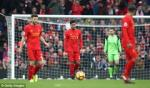 Tong hop: Liverpool 2-3 Swansea (Vong 22 NHA 2016/17)