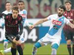 Tổng hợp: AC Milan 1-2 Napoli (Vòng 21 Serie A 2016/17)