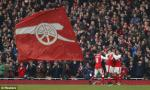 Tổng hợp: Arsenal 2-1 Burnley (Vòng 22 NHA 2016/17)