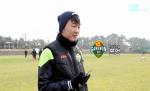Clip tiền vệ Xuân Trường chia sẻ về luyện tập ở CLB Gangwon