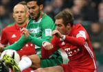 Tong hop: Bremen 1-2  Bayern Munich (Vong 18 Bundesliga 2016/17)