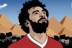 Mohamed Salah: Dom lua hong giua dem Ai Cap