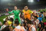 Tran Peru vs Colombia da duoc dan xep ty so de loai Chile?