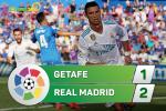 Tong hop: Getafe 1-2 Real Madrid (Vong 8 La Liga 2017/18)