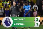 Tong hop: Watford 2-1 Arsenal (Vong 8 NHA 2017/18)
