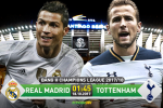 Real Madrid 1-1 Tottenham: Ken ken trang khong the xoi tai ga trong