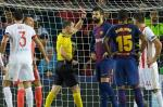 "Du am Barca 3-1 Olympiacos: Ga dong bong va nhung ""tro lo"""