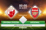 Crvena Zvezda 0-1 Arsenal: Than tai Giroud