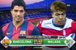 Barca 2-0 Malaga (KT): Chiến thắng nhọc nhằn và có mùi