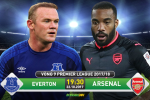 Everton 2-5 Arsenal (KT): Ozil thang hoa, Phao thu ren vang mung sinh nhat Wenger