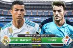 Real Madrid 3-0 Eibar (KT): Ronaldo im ắng, Blancos vẫn thắng