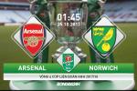 Arsenal vs Norwich (01h45 ngày 25/10): Đừng đùa với Chim hoàng yến