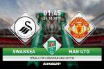 Swansea vs Man Utd (1h45 ngày 25/10): Tìm lại niềm vui
