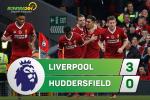 Tong hop: Liverpool 3-0 Huddersfield (Vong 10 NHA 2017/18)