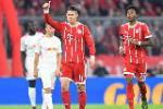 Ghi ban, James Rodriguez duoc HLV Bayern het loi khen ngoi