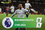 Tong hop: Bournemouth 0-1 Chelsea (Vong 10 NHA 2017/18)