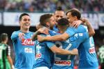 Napoli 3-1 Sassuolo: Doi lai ngoi dau