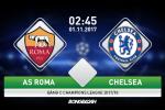 Roma 3-0 Chelsea (KT): The Blues thua tham tren dat Italia