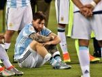 Lionel Messi tung xau ho vi quay tro lai DT Argentina
