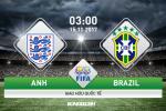 Anh vs Brazil (03h00 ngay 15/11): Vu dieu Samba tren dat Anh