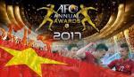 VFF có 2 đề cử giải thưởng năm 2017 của AFC