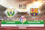 Leganes vs Barcelona (22h15 ngay 18/11): Toa son quan ho dau