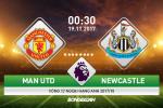 Man Utd vs Newcastle (0h30 ngay 19/11): Con gian cua Quy
