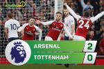 Tong hop: Arsenal 2-0 Tottenham (Vong 12 Ngoai hang Anh 2017/18)