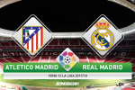 Atletico 0-0 Real Madrid (KT): Ronaldo mo, derby nhat