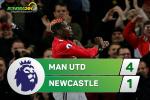 Tổng hợp: MU 4-1 Newcastle (Vòng 12 NHA 2017/18)