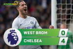 Tong hop: West Brom 0-4 Chelsea (Vong 12 NHA 2017/18)